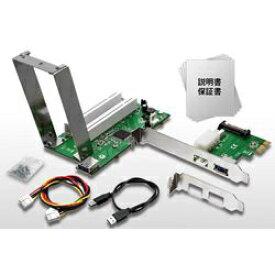 AREA エアリア 拡張ボードの旧世主 第二章 SD-PECPCiRi2 (PCIスロット増設 PCI Expressカード/2スロット/ロープロファイル対応)
