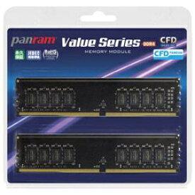 CFD販売 シー・エフ・デー CFD Panram DDR4-2400 デスクトップ用メモリ 8GB 2枚組 CL17モデル[W4U2400PS8GC17]