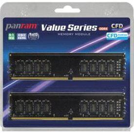CFD販売 シー・エフ・デー CFD Panram DDR4-2666 デスクトップ用メモリ 288pin DIMM 8GB 2枚組[W4U2666PS8GC19]