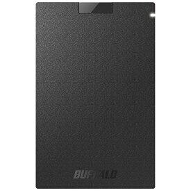 BUFFALO バッファロー SSD-PG960U3-BA 外付けSSD ブラック [ポータブル型 /960GB][SSDPG960U3BA]