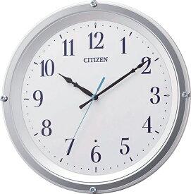 シチズン CITIZEN 掛け時計 ホワイト 8MY543-003 [電波自動受信機能有]