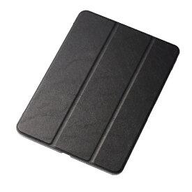 エレコム ELECOM iPad Pro 11インチ 2018年モデル フラップカバー 極み設計 ソフトレザーカバー 2アングル スリープ対応 ブラック TB-A18MWVKBK ブラック