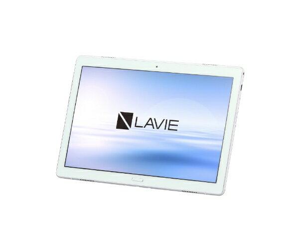NEC エヌイーシー PC-TE510JAW Androidタブレット LAVIE Tab E(TE510/JAW) ホワイト [10.1型ワイド /ストレージ:64GB /Wi-Fiモデル][タブレット 本体 10インチ PCTE510JAW]