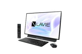 NEC エヌイーシー LAVIE Desk All-in-one(DA970/MAB ダブルチューナ搭載) デスクトップパソコンPC-DA970MAB ファインブラック [27型 /HDD:3TB /Optane:16GB /メモリ:8GB /2019年春モデル][27インチ office付き 新品 一体型 windows10]