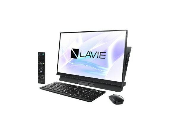 NEC エヌイーシー LAVIE Desk All-in-one(DA370/MAB シングルチューナ搭載) デスクトップパソコン PC-DA370MAB ファインブラック [23.8型 /HDD:1TB /メモリ:4GB /2019年春モデル][PCDA370MAB]