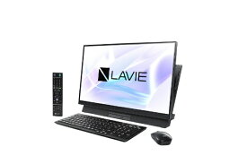 NEC エヌイーシー LAVIE Desk All-in-one(DA570/MAB-2 シングルチューナ搭載) デスクトップパソコン PC-DA570MAB-2 ファインブラック [23.8型 /CPU:Core i5 /HDD:1TB /Optane:16GB /メモリ:4GB /2019年春モデル][23.8インチ office付き 新品 一体型]【point_rb】