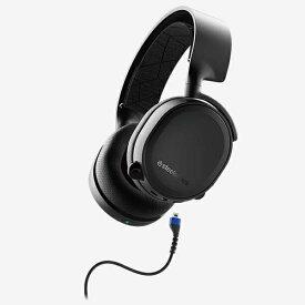 STEELSERIES スティールシリーズ 61509 ゲーミングヘッドセット 2019Edition Arctis 3 Bluetooth [ワイヤレス(Bluetooth)+有線 /両耳 /ヘッドバンドタイプ][61509]