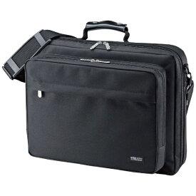 サンワサプライ SANWA SUPPLY PCキャリングバッグ(15.6インチワイド・シングル・ブラック) BAG-U54BK2[BAGU54BK2]