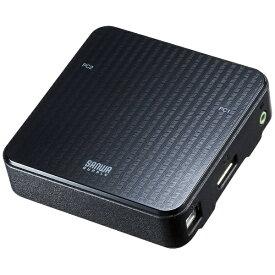 サンワサプライ SANWA SUPPLY DisplayPort対応手元スイッチ付きパソコン自動切替器 SW-KVM2WDPU [2入力 /1出力 /自動]