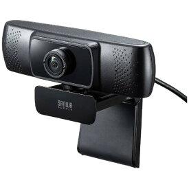 サンワサプライ SANWA SUPPLY 会議用ワイドレンズカメラ CMS-V43BK ブラック [有線][CMSV43BK]