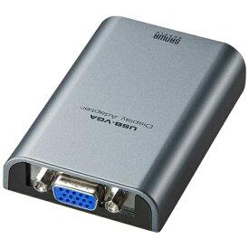 サンワサプライ SANWA SUPPLY USB-VGAディスプレイ変換アダプタ(ミニ USB Bコネクタ メス−ミニDsub15pinメス) AD-USB24VGA