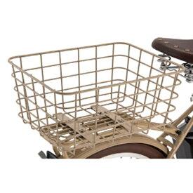 ブリヂストン BRIDGESTONE リヤバスケット(ベージュ) RBK-ILM【イルミオ専用・限定商品】BE1 P6519