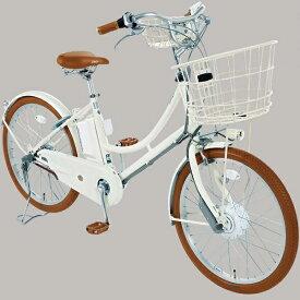 ブリヂストン BRIDGESTONE 24型 電動アシスト自転車 イルミオ(ホワイト/内装3段変速) IL4B49【2019年モデル】【組立商品につき返品不可】 【代金引換配送不可】
