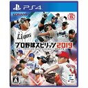 コナミデジタルエンタテイメント Konami Digital Entertainment プロ野球スピリッツ2019【PS4 プレステ4】