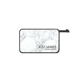JUST JAMES ジャストジェームス JUSTJAMES TRAVELLER microSDカードリーダー付きモバイルバッテリー SIM収納 SIMピン付 海外旅行 USB-Cケーブル付属 JJS-BY-000001