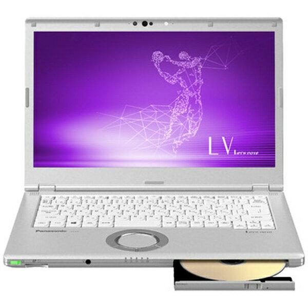 パナソニック Panasonic CF-LV7CDFQR ノートパソコン Let's note(レッツノート) LVシリーズ シルバー [14.0型 /intel Core i5 /SSD:128GB /メモリ:8GB /2019年春モデル][CFLV7CDFQR]