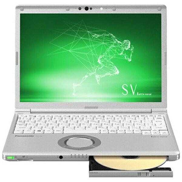 パナソニック Panasonic CF-SV8CDFPR ノートパソコン Let's note(レッツノート) SVシリーズ シルバー [12.1型 /intel Core i5 /SSD:128GB /メモリ:8GB /2019年春モデル][CFSV8CDFPR]