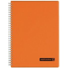 マルマン maruman B5 ノート セプトクルール オレンジ