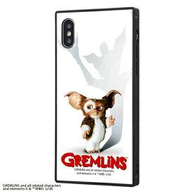 イングレム Ingrem iPhone XS / X /グレムリン/耐衝撃ガラスケース KAKU/GREMLINS IQ-WP20K1B/GR001