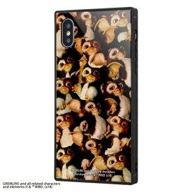 イングレム Ingrem iPhone XS / X /グレムリン/耐衝撃ガラスケース KAKU/TIGHT IQ-WP20K1B/GR003