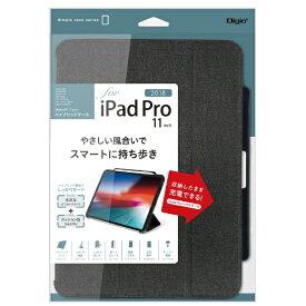 ナカバヤシ Nakabayashi iPadPro11inch(2018)用ハイブリッドケース TBC-IPP1800P ブラック