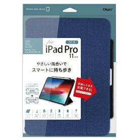 ナカバヤシ Nakabayashi iPadPro11inch(2018)用ハイブリッドケース TBC-IPP1800R ブルー