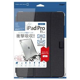 ナカバヤシ Nakabayashi iPadPro11inch(2018)用衝撃吸収ケース TBC-IPP1814BK ブラック