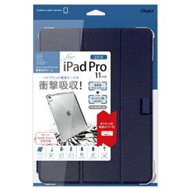 ナカバヤシ Nakabayashi iPadPro11inch(2018)用衝撃吸収ケース TBC-IPP1814NB ネイビー