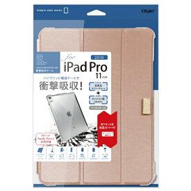 ナカバヤシ Nakabayashi iPadPro11inch(2018)用衝撃吸収ケース TBC-IPP1814P ピンク