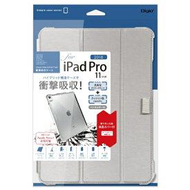 ナカバヤシ Nakabayashi iPadPro11inch(2018)用衝撃吸収ケース TBC-IPP1814SL シルバー
