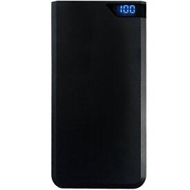 オズマ OSMA スマートフォン用モバイルバッテリー/PSE技術基準適合品/10000mAh LUMM100SCCJSK [10000mAh /2ポート /microUSB /充電タイプ]