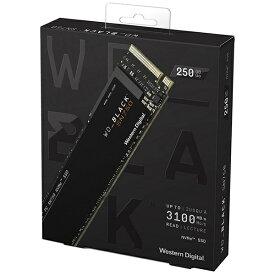 WESTERN DIGITAL ウェスタン デジタル WDS250G3X0C 内蔵SSD [M.2 /250GB]【バルク品】