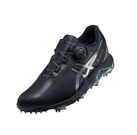 ダンロップ(アシックス) 27.5cm メンズ ゴルフシューズ GEL-ACE PRO 4 BOA(ブラック×カーボン) 1113A002