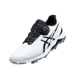 ダンロップ(アシックス) 24.5cm メンズ ゴルフシューズ GEL-ACE PRO 4 BOA(ホワイト×ブラック) 1113A002