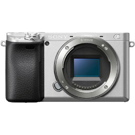 ソニー SONY ILCE-6400-S ミラーレス一眼カメラ α6400 シルバー [ボディ単体][ILCE6400S]