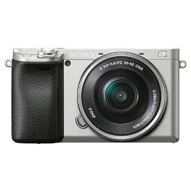 ソニー SONY ILCE-6400L-S ミラーレス一眼カメラ パワーズームレンズキット α6400 シルバー [ズームレンズ][ILCE6400LS]
