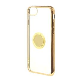 ラスタバナナ RastaBanana iPhone SE(第2世代)4.7インチ/ iPhone8/7/6s共用 トライタンリングメタルフレームケース 4675IP747TR ゴールド×ゴールド