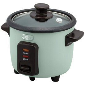 ラドンナ LADONNA K-RC1-PA 炊飯器 Toffy ミニライスクッカー PALE AQUA [1.5合 /マイコン][1.5合 一人暮らし おしゃれ KRC1]
