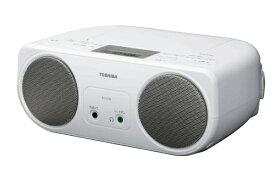 東芝 TOSHIBA CDラジオ TY-C151S シルバー[TYC151S]