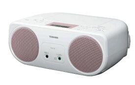 東芝 TOSHIBA CDラジオ TY-C151P ピンク[TYC151P]