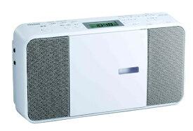 東芝 TOSHIBA CDラジオ TY-C251W ホワイト[ラジカセ cd プレーヤー 薄型 コンパクト TYC251W]