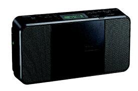 東芝 TOSHIBA CDラジオ TY-C251K ブラック[薄型 コンパクト TYC251K]