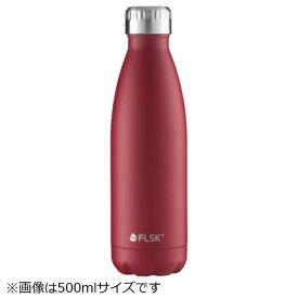 LIMON ステンレスボトル 750ml FLSK BOTTLE(フラスク ボトル) レッド FL750CMBRDX013