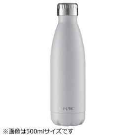 LIMON ステンレスボトル 1000ml FLSK BOTTLE(フラスク ボトル) ホワイト FL1000CMWHTE021
