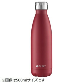 LIMON ステンレスボトル 1000ml FLSK BOTTLE(フラスク ボトル) レッド FL1000CMBRDX023