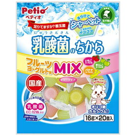 ペティオ Petio 乳酸菌のちから ゼリータイプ MIX 16g×20個入