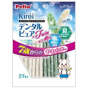 ペティオ Petio Kirei デンタルピュア×Twin Mix 7歳からのやわらかタイプ 27本入