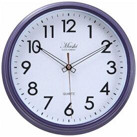 不二貿易 Fuji Boeki 掛け時計 アルコル パープル 27218
