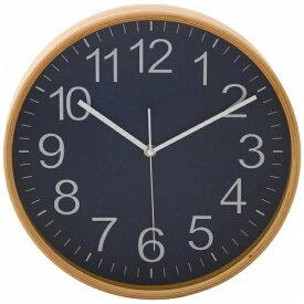 不二貿易 Fuji Boeki 掛け時計 プライウッド ネイビー 85369