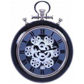 不二貿易 Fuji Boeki 掛け時計 ギア ブラック 27226